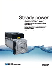 Wanco Water-Resistant Generators Brochure