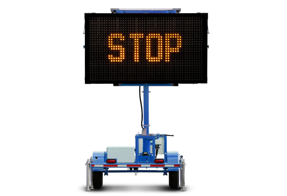 Keep your work zone safe with Message Boards from Action. Matrix message signs are great for presenting messages with text and graphics for almost any application