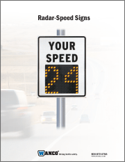Pole-Mount Speed Signs Brochure