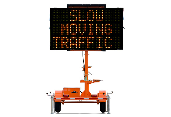 Keep your work zone safe with Message Boards from Action. The Wanco Mini Three-Line Message Sign is a compact version of our full-size Three-Line Sign.