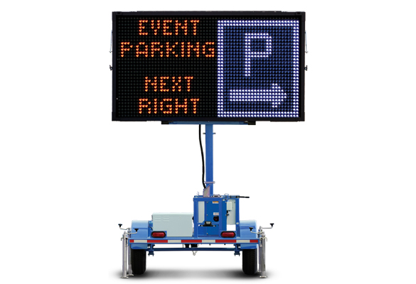 Keep your work zone safe with message boards from Action. Wanco Color Message Signs let you combine graphics and text in five colors to make bright, colorful messages that stand out.
