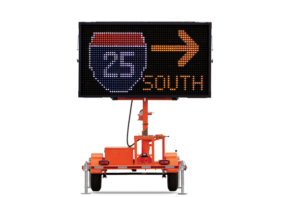 Keep your work zone safe with traffic safety products from Action. Wanco Color Message Signs let you create messages like you never could before.