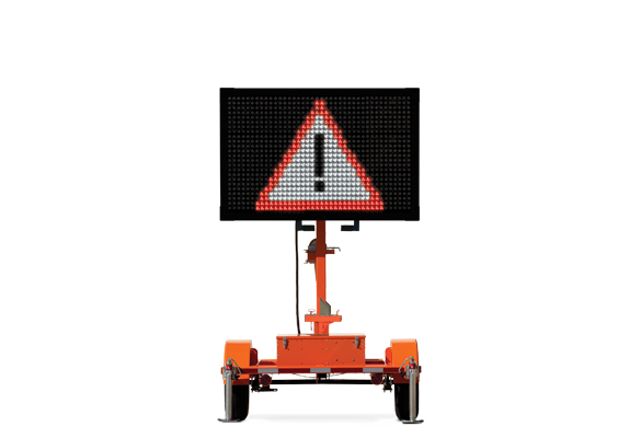 Keep your work zone safe with Message Boards from Action. Wanco designed the Metro message sign for use in metropolitan areas and wherever trailer size is a concern.