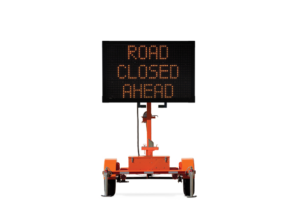Keep your work zone safe with Arrow Boards from Action.