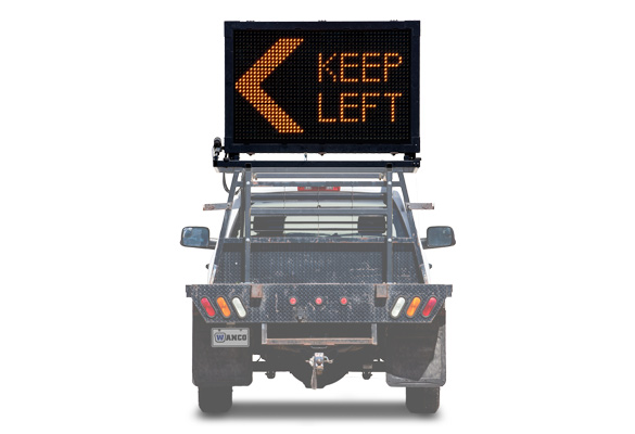 Keep your work zone safe with Message Boards from Action. Truck-Mount Message Signs offer the advantages of our full-matrix signs packed into a smaller unit.