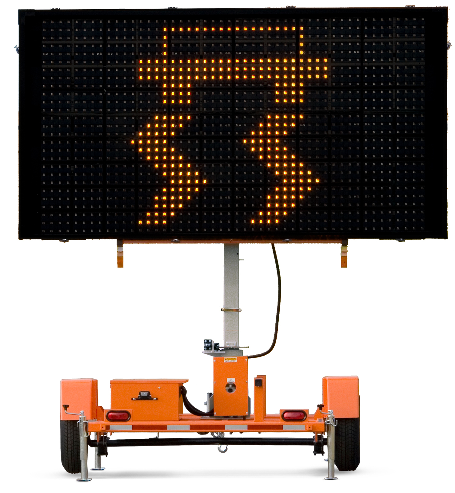 Wanco Portable Light Tower: Matrix Message Signs