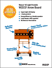 MTO Arrowboards Brochure