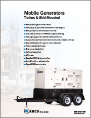 Wanco Mobile Power Generators Brochure