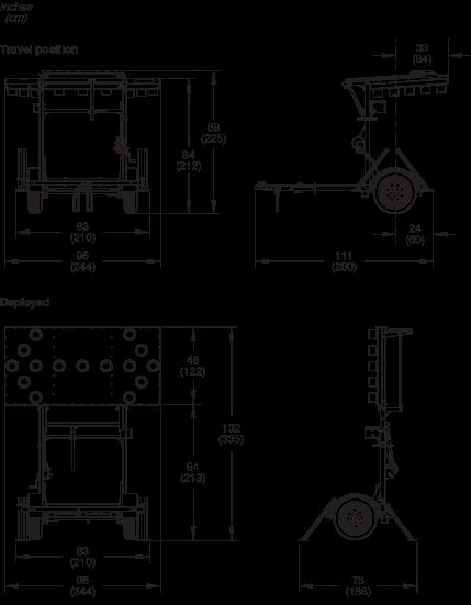 Weco Folding Frame Arrow Boards Wanco Inc. Wiring. Arrow Board Wiring Diagram At Scoala.co