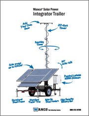 Wanco Solar Integrator Trailer Brochure