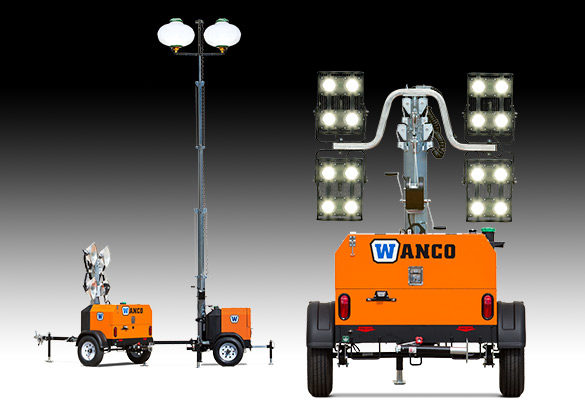 Light Towers, Portable Outdoor Lighting Tower