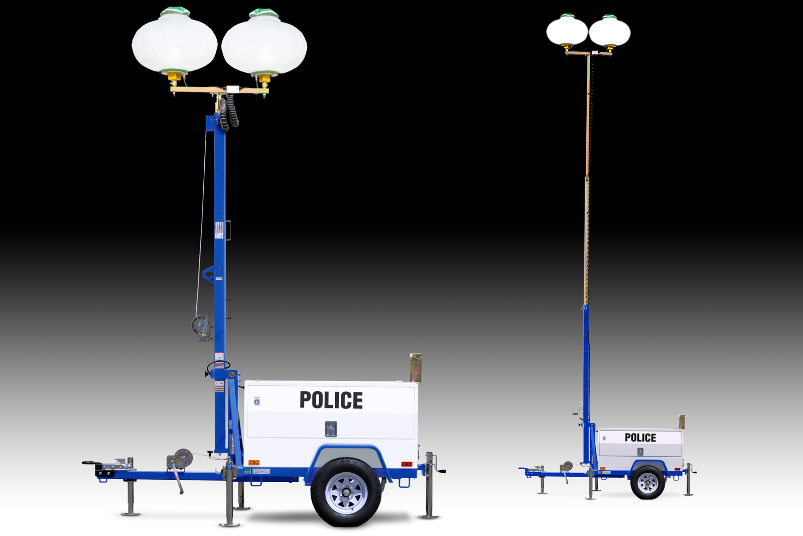 Diesel Light Towers For Public Safety Wanco Inc