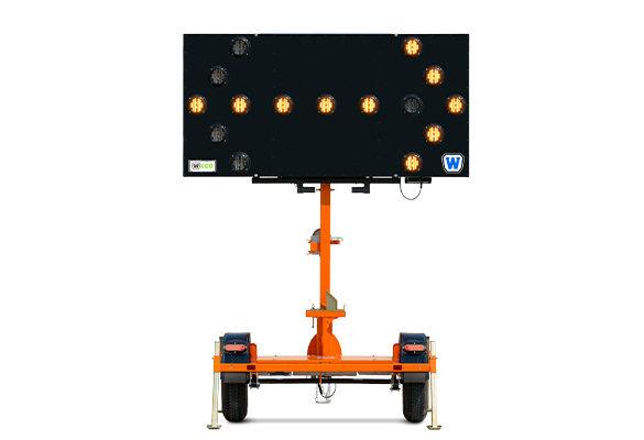 W|ECO Vertical Mast Arrow Board